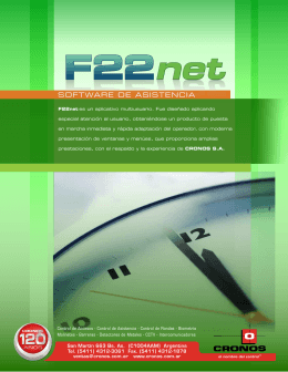 folleto F22net