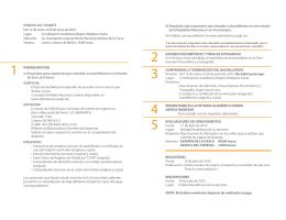 Etapas del Trámite de Ingreso Coordinación Académica Región
