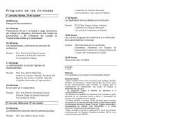 Folleto - Colegio Oficial Titulados Mercantiles Y Empresariales