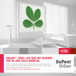 Folleto Orlian™