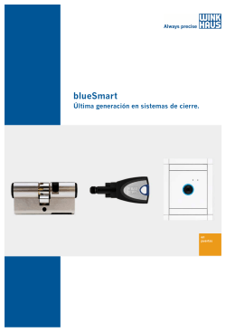 Folleto comercial blueSmart vESP