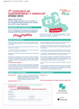 folleto en castellano