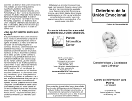 Desordenes de Atención - Parent Information Center