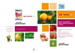 folleto iber-humus españa