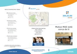 Mutua MAZ está cerca de ti (Teruel)