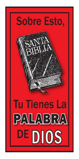 PALABRA - Bendiciendo A Las Almas, Inc.