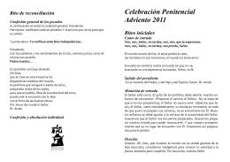 Folleto Celebración Penitencial Adviento[...]