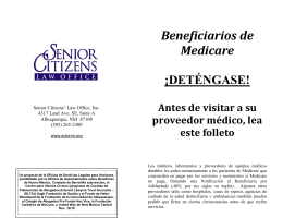 Beneficiarios de Medicare