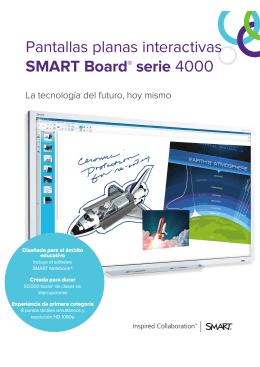 Pantallas planas interactivas SMART Board