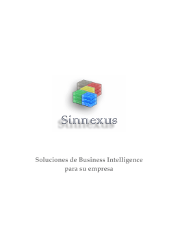 Soluciones de Business Intelligence para su empresa