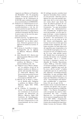 """vigencia en México al Espíritu de Medellín"""". Cfr. El pequeño folleto"""
