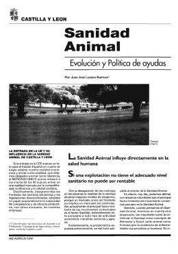 Castilla y León: Sanidad animal