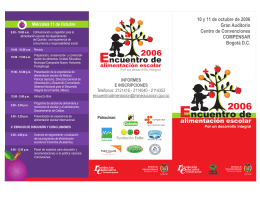 FOLLETO ENCUENTRO DE ALIMENTACIÓN ESCOLAR final.cdr
