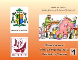 1.- Folleto - Diócesis de Texcoco