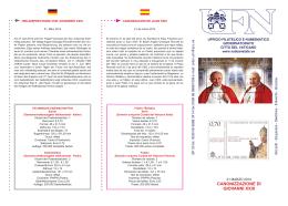 BF 03 Canonizzazione di Giovanni XXIII.indd