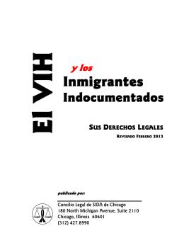 El VIH y los Inmigrantes Indocumentados