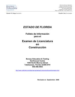 FOLLETO DE INFORMACIN