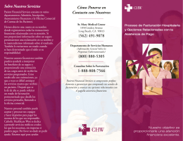Cómo Ponerse en Contacto con Nosotros: (562) 491