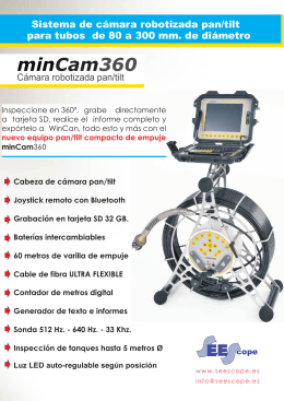 Folleto minCam360