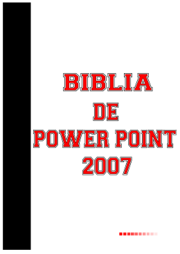 Curso de Power Point (2007)
