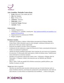 actas 22 octubre - Podemos Marbella