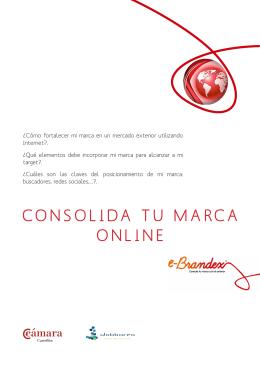 consolida tu marca online - Cámara de Comercio de Castellón