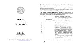 JUICIO ORDINARIO