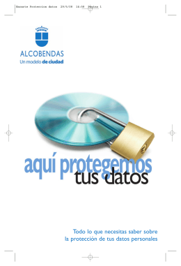 Alcobendas protege tus datos