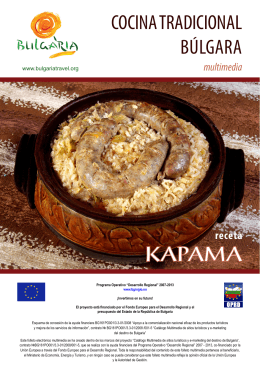 Receta - Kapama - Bulgaria Travel