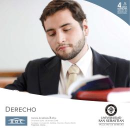 Derecho - Universidad San Sebastián