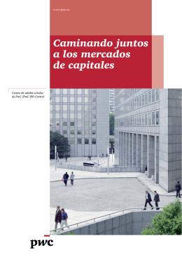 Caminando juntos a los mercados de capitales