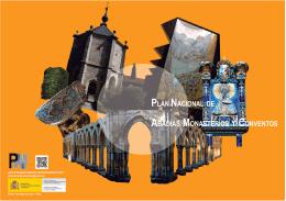 Folleto del Plan Nacional de Abadías, Monasterios y Conventos