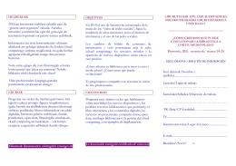 folleto nuevos servicios