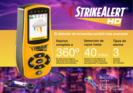 LD3000 - StrikeAlert HD - Folleto - Rev. A