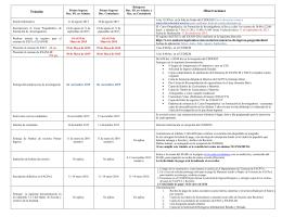 Folleto Informativo Enero – Junio 2016