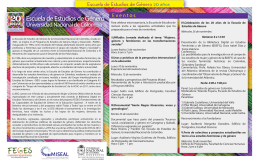 Folleto EEg Eventos - Facultad de Ciencias Humanas