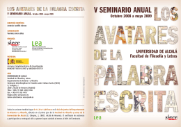 Descargar folleto del seminario