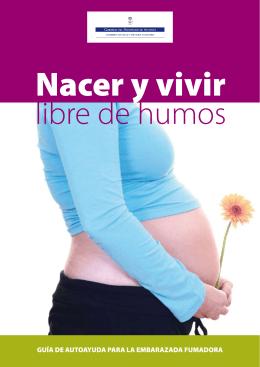guía de autoayuda para la embarazada fumadora