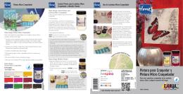 Manual de utilización Pintura para Craquelar