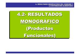 Productos Funcionales - Ministerio de Agricultura, Alimentación y