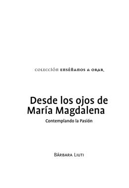 Desde los ojos de María Magdalena