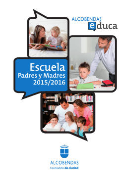 folleto escuela padres y madres 2015