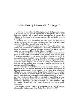 Essai de Bryogéographie de la Péninsule Ibérique.