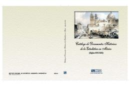Catálogo de Documentos Históricos de la Estadística en México