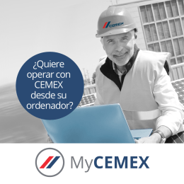 Folleto My CEMEX por paginas (cmxn-70)