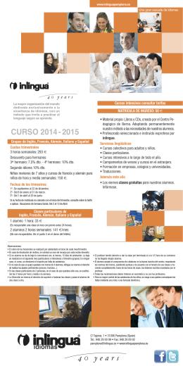4 years CURSO 2014 - 2015