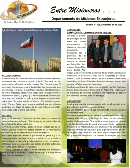 boletin 195 - Iglesia Pentecostal Unida de Colombia