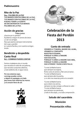 fiesta perdón 2013 folleto