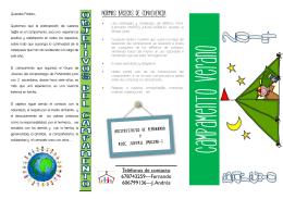 Teléfonos de contacto 678743259—Fernando 606799136—J. Andrés