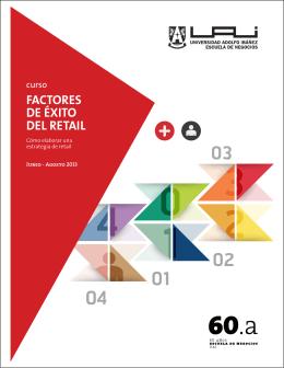 curso FACTORES DE ÉXITO DEL RETAIL